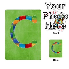 Boys Abc Cards ,flash And Memory Game  By Brookieadkins Yahoo Com   Multi Purpose Cards (rectangle)   Yc23agrgdra9   Www Artscow Com Front 29