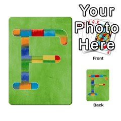 Boys Abc Cards ,flash And Memory Game  By Brookieadkins Yahoo Com   Multi Purpose Cards (rectangle)   Yc23agrgdra9   Www Artscow Com Front 32