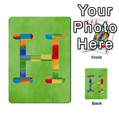 Boys Abc Cards ,flash And Memory Game  By Brookieadkins Yahoo Com   Multi Purpose Cards (rectangle)   Yc23agrgdra9   Www Artscow Com Front 34