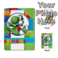 Boys Abc Cards ,flash And Memory Game  By Brookieadkins Yahoo Com   Multi Purpose Cards (rectangle)   Yc23agrgdra9   Www Artscow Com Back 4