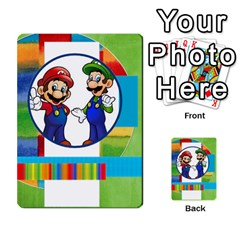 Boys Abc Cards ,flash And Memory Game  By Brookieadkins Yahoo Com   Multi Purpose Cards (rectangle)   Yc23agrgdra9   Www Artscow Com Back 38