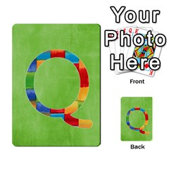 Boys Abc Cards ,flash And Memory Game  By Brookieadkins Yahoo Com   Multi Purpose Cards (rectangle)   Yc23agrgdra9   Www Artscow Com Front 43