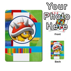 Boys Abc Cards ,flash And Memory Game  By Brookieadkins Yahoo Com   Multi Purpose Cards (rectangle)   Yc23agrgdra9   Www Artscow Com Back 48