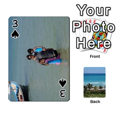 Playing Card 2 By Saurabh   Playing Cards 54 Designs   Rcahd5eqm91h   Www Artscow Com Front - Spade3