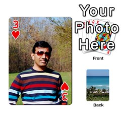 Playing Card 2 By Saurabh   Playing Cards 54 Designs   Rcahd5eqm91h   Www Artscow Com Front - Heart3