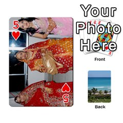 Playing Card 2 By Saurabh   Playing Cards 54 Designs   Rcahd5eqm91h   Www Artscow Com Front - Heart5