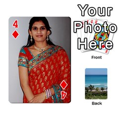 Playing Card 2 By Saurabh   Playing Cards 54 Designs   Rcahd5eqm91h   Www Artscow Com Front - Diamond4