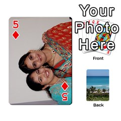 Playing Card 2 By Saurabh   Playing Cards 54 Designs   Rcahd5eqm91h   Www Artscow Com Front - Diamond5