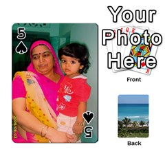 Playing Card 2 By Saurabh   Playing Cards 54 Designs   Rcahd5eqm91h   Www Artscow Com Front - Spade5