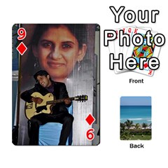 Playing Card 2 By Saurabh   Playing Cards 54 Designs   Rcahd5eqm91h   Www Artscow Com Front - Diamond9