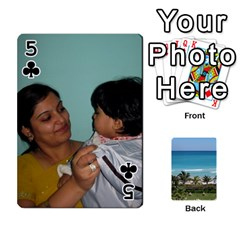Playing Card 2 By Saurabh   Playing Cards 54 Designs   Rcahd5eqm91h   Www Artscow Com Front - Club5