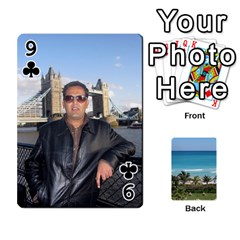 Playing Card 2 By Saurabh   Playing Cards 54 Designs   Rcahd5eqm91h   Www Artscow Com Front - Club9