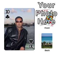 Playing Card 2 By Saurabh   Playing Cards 54 Designs   Rcahd5eqm91h   Www Artscow Com Front - Club10