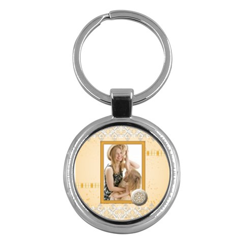 Mother Gift By Joely   Key Chain (round)   26dil7ym7r7c   Www Artscow Com Front