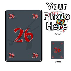 Deck1 Chinesenot By Grace   Multi Purpose Cards (rectangle)   Fj3p73xub3py   Www Artscow Com Front 3
