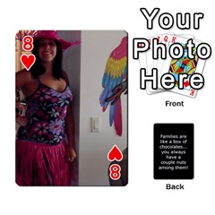 Playcards1 By Cheryl   Playing Cards 54 Designs   Cc2e2qs7lczb   Www Artscow Com Front - Heart8