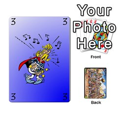 King Asterix Battleline Deck1 By Alvise Fiume   Playing Cards 54 Designs   2ehiiyn5dw86   Www Artscow Com Front - SpadeK