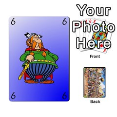 Asterix Battleline Deck1 By Alvise Fiume   Playing Cards 54 Designs   2ehiiyn5dw86   Www Artscow Com Front - Heart3