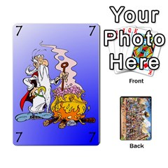 Asterix Battleline Deck1 By Alvise Fiume   Playing Cards 54 Designs   2ehiiyn5dw86   Www Artscow Com Front - Heart4