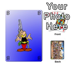 Asterix Battleline Deck1 By Alvise Fiume   Playing Cards 54 Designs   2ehiiyn5dw86   Www Artscow Com Front - Heart5