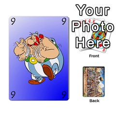 Asterix Battleline Deck1 By Alvise Fiume   Playing Cards 54 Designs   2ehiiyn5dw86   Www Artscow Com Front - Heart6