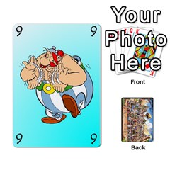 Asterix Battleline Deck1 By Alvise Fiume   Playing Cards 54 Designs   2ehiiyn5dw86   Www Artscow Com Front - Diamond2