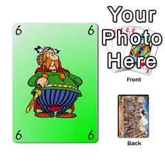 Asterix Battleline Deck1 By Alvise Fiume   Playing Cards 54 Designs   2ehiiyn5dw86   Www Artscow Com Front - Diamond8