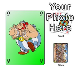 Jack Asterix Battleline Deck1 By Alvise Fiume   Playing Cards 54 Designs   2ehiiyn5dw86   Www Artscow Com Front - DiamondJ