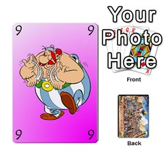 Asterix Battleline Deck1 By Alvise Fiume   Playing Cards 54 Designs   2ehiiyn5dw86   Www Artscow Com Front - Club7