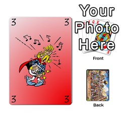 Asterix Battleline Deck1 By Alvise Fiume   Playing Cards 54 Designs   2ehiiyn5dw86   Www Artscow Com Front - Club10