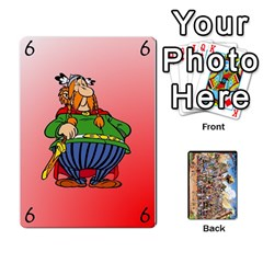 King Asterix Battleline Deck1 By Alvise Fiume   Playing Cards 54 Designs   2ehiiyn5dw86   Www Artscow Com Front - ClubK