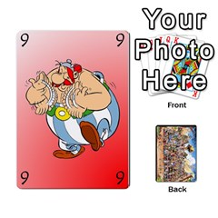 Asterix Battleline Deck1 By Alvise Fiume   Playing Cards 54 Designs   2ehiiyn5dw86   Www Artscow Com Front - Joker2