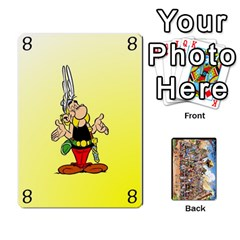 Asterix Battleline Deck2 By Alvise Fiume   Playing Cards 54 Designs   585aoul8nunn   Www Artscow Com Front - Spade9