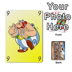 Asterix Battleline Deck2 By Alvise Fiume   Playing Cards 54 Designs   585aoul8nunn   Www Artscow Com Front - Spade10