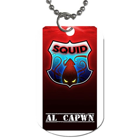 Squid Dogtag By Nick Front