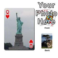Queen Travis By Travis Bruno Erck   Playing Cards 54 Designs   Ir80ebstumh0   Www Artscow Com Front - HeartQ