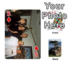 Travis By Travis Bruno Erck   Playing Cards 54 Designs   Ir80ebstumh0   Www Artscow Com Front - Diamond5