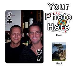Jack Travis By Travis Bruno Erck   Playing Cards 54 Designs   Ir80ebstumh0   Www Artscow Com Front - ClubJ