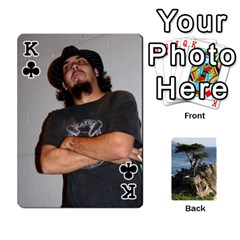King Travis By Travis Bruno Erck   Playing Cards 54 Designs   Ir80ebstumh0   Www Artscow Com Front - ClubK