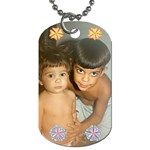 sergio y tiff - Dog Tag (One Side)