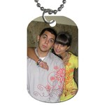 sergio y tiff grandes - Dog Tag (One Side)
