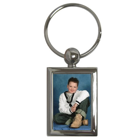 Nathan 2010 Keyring By Catvinnat   Key Chain (rectangle)   M6tk9e9q97cm   Www Artscow Com Front