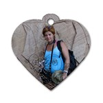 YO - Dog Tag Heart (One Side)