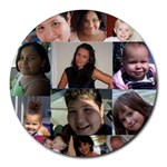 kids mousepad - Round Mousepad