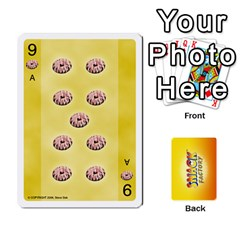 2010 Snack Factory By Steve Sisk   Playing Cards 54 Designs   S8wpjoc9g551   Www Artscow Com Front - Spade9
