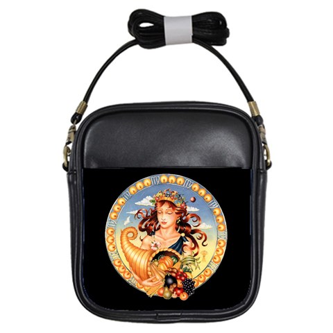 zodiac Virgo girls sling bag by EnKay Front
