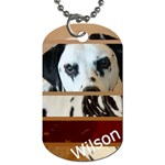 Wilson s tag - Dog Tag (Two Sides)