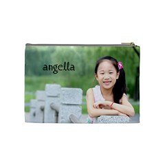 Angella By Admin1   Cosmetic Bag (medium)   Caxe6flxqsoa   Www Artscow Com Back