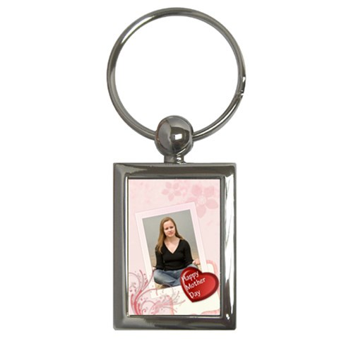 Happy Mother Day By Wood Johnson   Key Chain (rectangle)   Dudp3c9czrbu   Www Artscow Com Front