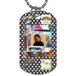 Keira  - Dog Tag (Two Sides)